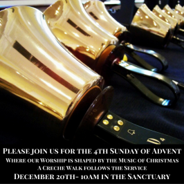 Join us for the 4th Sunday of Advent!