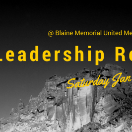 Leadership Retreat Jan 30th