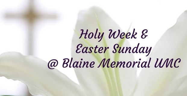 Holy Week & Easter Services
