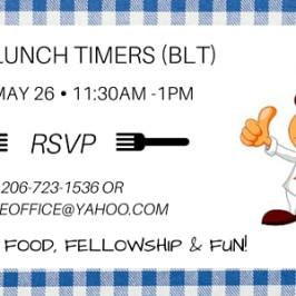 Blaine Lunch Timers (BLT)