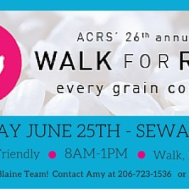 2016 WALK FOR RICE