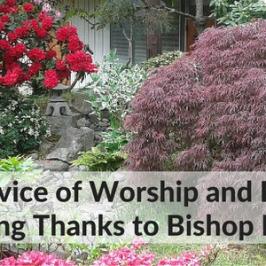 Worship & Bishop Hagiya Celebration