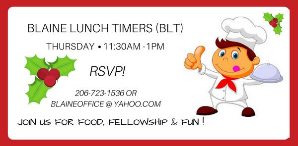 BLT (Blaine Lunch Timers)