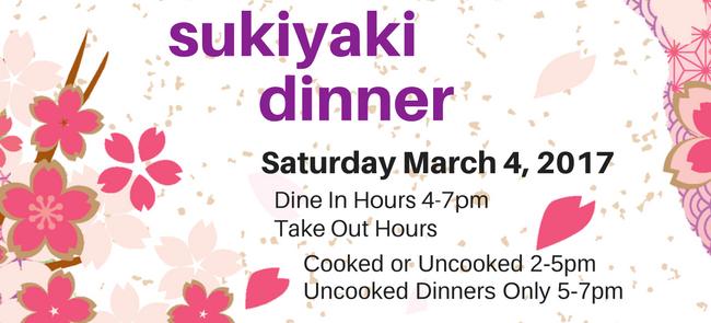 Sukiyaki Benefit 2017