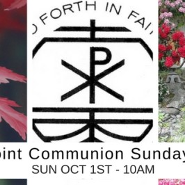 Join us this Sunday October 1st!