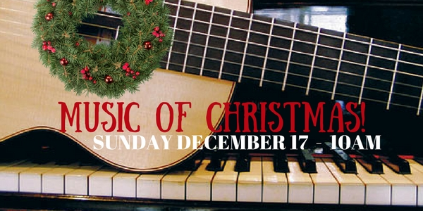 Sunday Worship December 17th at 10am