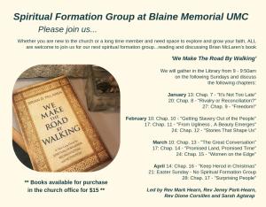 Spiritual Formation Group 2019