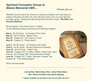 Updated Spiritual Formation 4.28.19